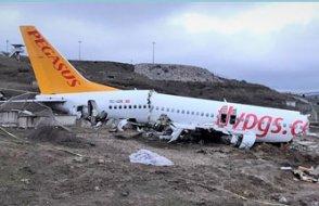 Kaza yapan Pegasus uçağının kaptan pilotu hakkında mahkeme kararını verdi