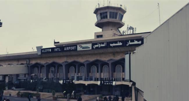 Halep Uluslararası Havalimanı açıldı