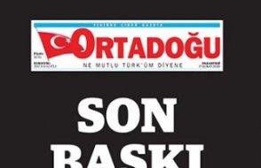 MHP'nin 48 yıllık gazetesi kapandı: Bizi sırtımızdan hançerlediler