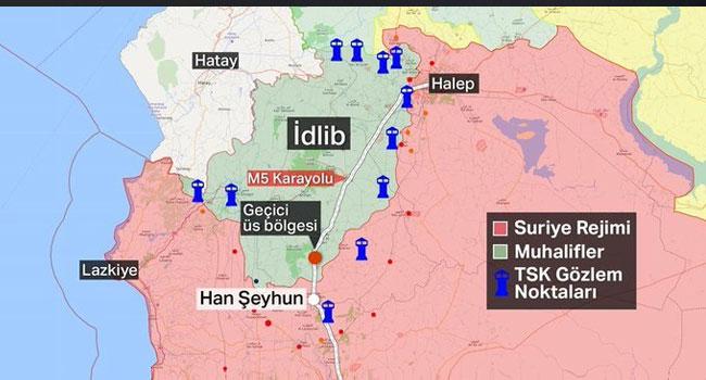İdlib'den acı haber: 1 asker şehit!