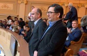 Bilici ve Arslan'a Virginia Meclisi'nde büyük onur