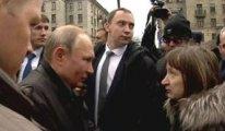 Rus vatandaşının sorusu Putin'i zora soktu