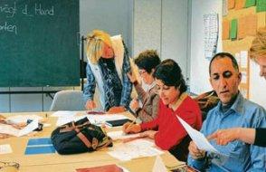 Almanya'da oturum alamayanlar için Almanca kursu imkânı