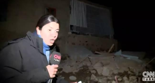 5.9 büyüklüğündeki deprem kameraya böyle yansıdı