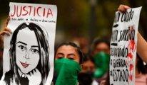 Meksika'da kadınlar sokaklara çıktı
