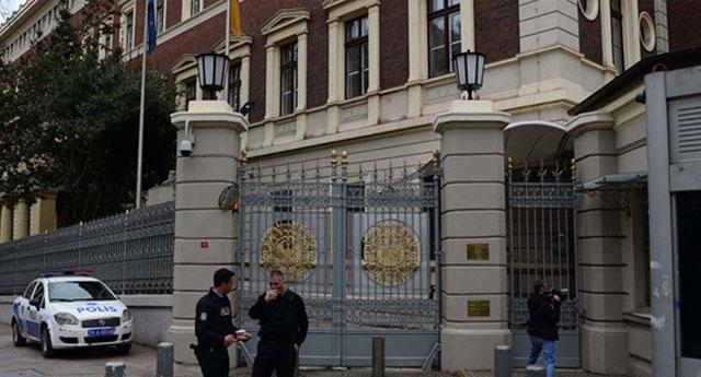 Almanya Büyükelçiliği'nin avukatının  davası erkene çekildi