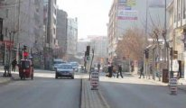 Koronavirüs endişesiyle Van'da cadde ve sokaklar boşaldı