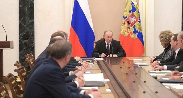Putin Ulusal Güvenlik Konseyi'ni topladı
