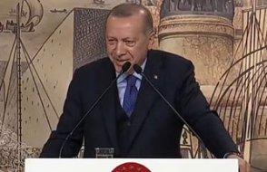Erdoğan'ın şehitler sonrası ilk açıklamasında espriler, kahkahalar ve alkışlar...