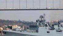 Rusya Donanmayı Karadeniz'de topluyor: Bir savaş gemisi İstanbul Boğazı'ndan geçti