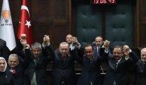 Erdoğan'ın AKP rozeti taktıkları zaten kendi adamlarıymış