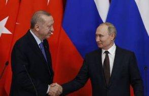 Erdoğan, Putin'e