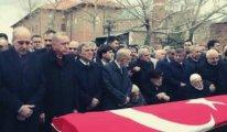 Erdoğan, Gül ve Davutoğlu'nu bir araya getiren cenaze töreni