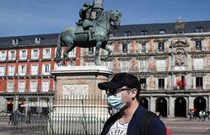 İspanya'da koronavirüs yüzünden yaşanan can kayıplarının sayısı dört gündür azalıyor