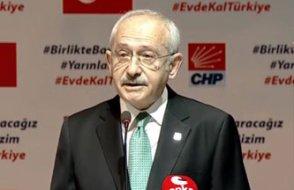 Kılıçdaroğlu: Geniş bir sokağa çıkma yasağı ve karantina uygulansın