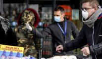 Avusturya süpermarketlerinde maske zorunluluğu
