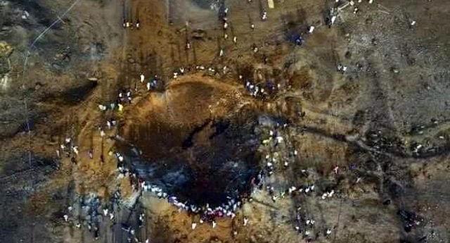 Nijerya'ya meteor mu düştü?