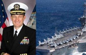 Uçak gemisini boşaltmak isteyen komutanın kellesi gitti