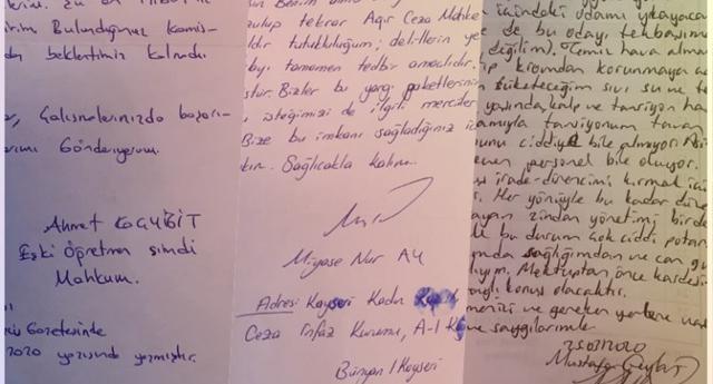Mahpuslardan Meclis'e mektup yağdı: Tehlike altındayız