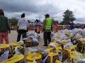 Güney Afrika'da duygulandıran yardım