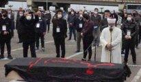 Haydar Baş'ın cenazesinin üzerindeki örtünün anlamı nedir?