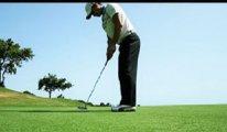 Golf sopası, hoparlör ve çıt çıt...