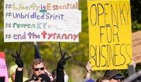 ABD: Karantina karşıtı eylemler artıyor