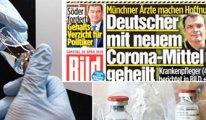 Almanya corona'da umut veren ilacı konuşuyor: 1 haftada hayata döndüm