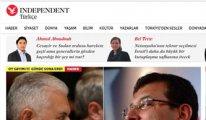 Independent Türkçe sitesi erişime engellendi, yandaşlardan ilginç başlıklar geldi