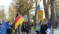 Almanya-Polonya Sınırında Karantina Protestosu