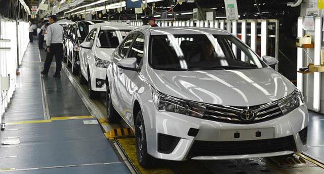 Toyota parça tedariki durduğu için üretime ara verdi