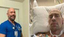 Koronaya yakalanan ABD'li sağlık çalışanı 6 haftada resmen eridi