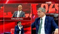 Davutoğlu ile Akitçi canlı yayında birbirine girdi: Niye bağırıyorsun!