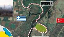 Yunanistan'la bu kez Meriç Nehri'nde bayrak krizi
