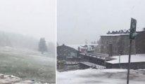 27 Mayıs'ta kar!