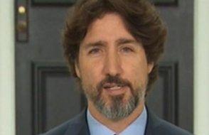 Sosyal medyaya damga vuran video: Trump sorusu karşısında Trudeau'nun 'dili tutuldu'