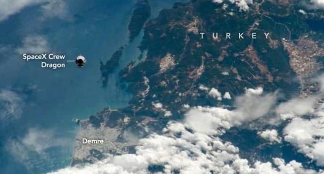 Antalya'nın Demre ilçesini uzaydan görüntülediler