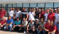 Türk işçiler mahsur kaldı