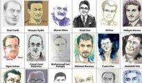 Alman ressamlar tutsak gazetecileri unutmadı