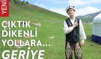 Kırgız gençten duygulandıran şarkı