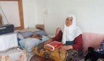 87 yaşındaki yaşlı kadın 'KHK ile evine el koyduk' denerek çıkarılmaya çalışılıyor