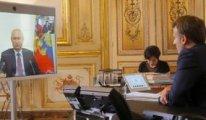 Macron ve Putin'den Libya anlaşması