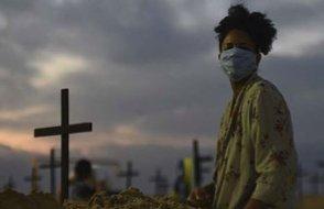 Koronadan son 24 saatte Hindistan'da 1247, Brezilya'da 858, Meksika'da 624 kişi öldü