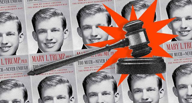 Kitap engellenemedi: Trump'un yeğeni sırları yazdı, mahkeme 'yayınlansın' dedi