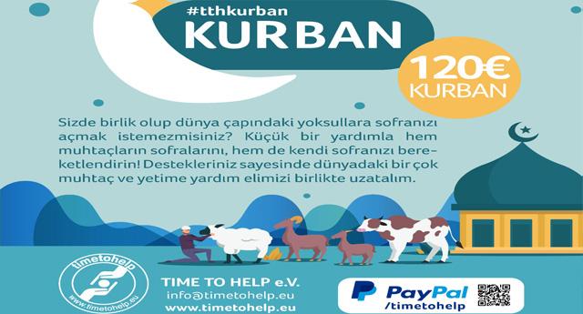 Time To Help Kurban Bağış Kampanyası