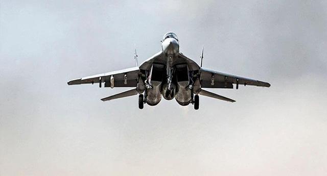 Rus uçakları kullanıldı