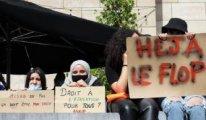 Brüksel'de başörtülülere yapılan ayrımcılık protesto edildi
