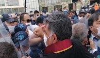 Ankara Kuğulu Park'ta baro başkanları ve avukatlara polis şiddeti