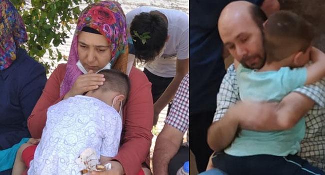Ahmet Eşref annesine kavuştu