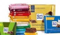Almanya'da artık tek kare çikolata 'Ritter Sport' olacak